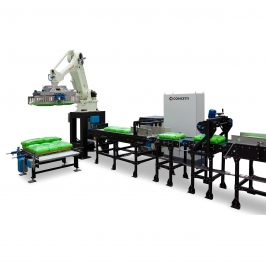 Turn Arm Robot Palletizer