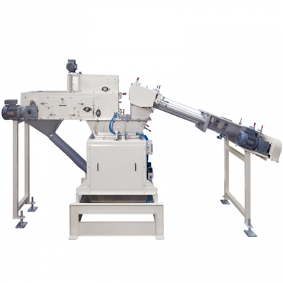 Double feed weighers