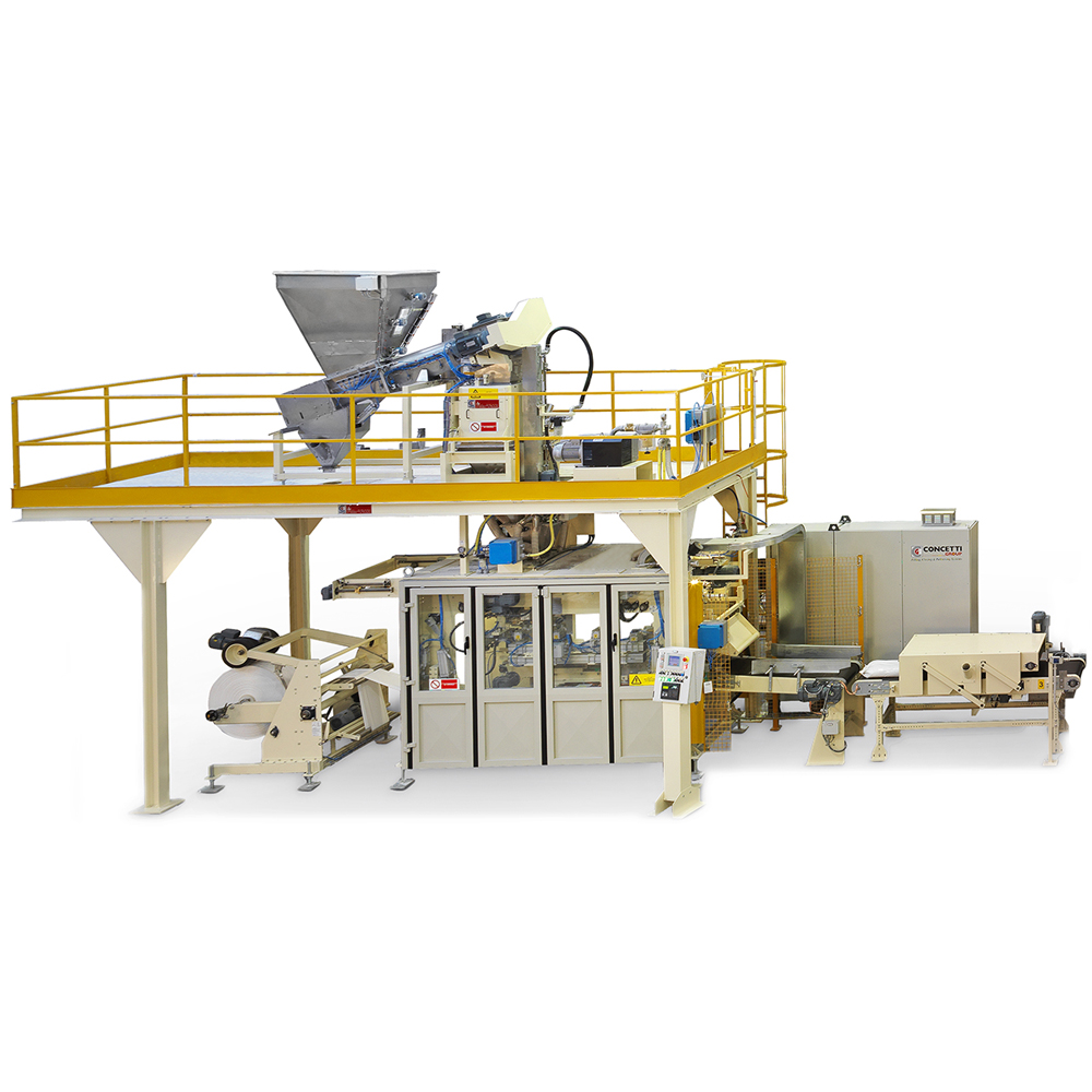 Form, Fill and Seal Bagging Machines